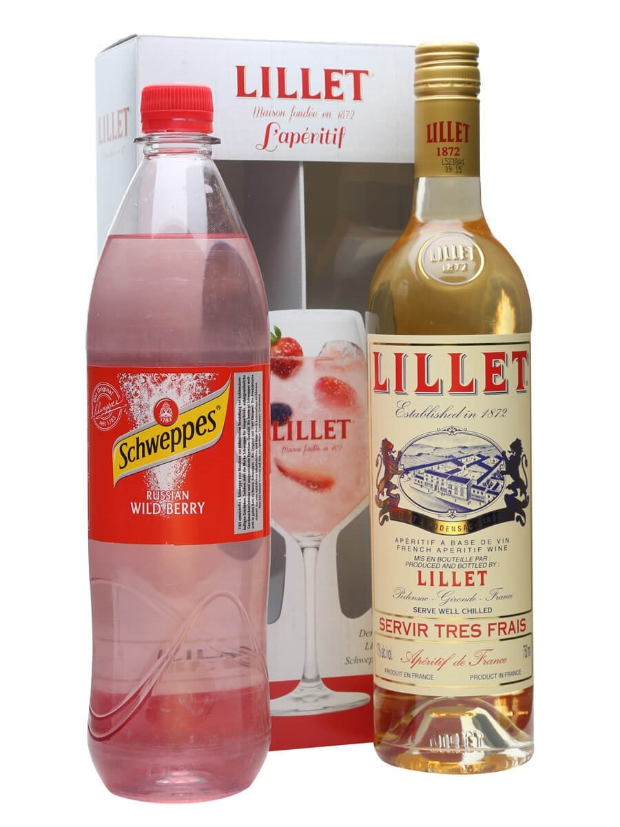 Lillet blanc schweppes russian wild berry the whisky for Cocktail lillet