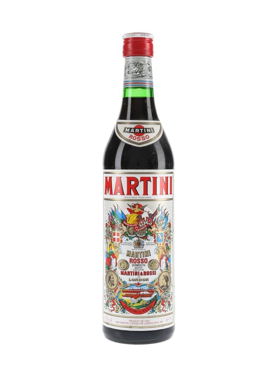 Martini Rosso Vermouth / Bot.1980s
