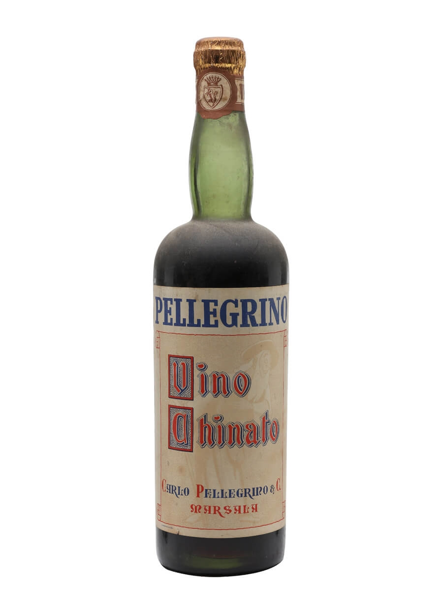 Pellegrino Vino Chinato / Marsala / Bot.1950s