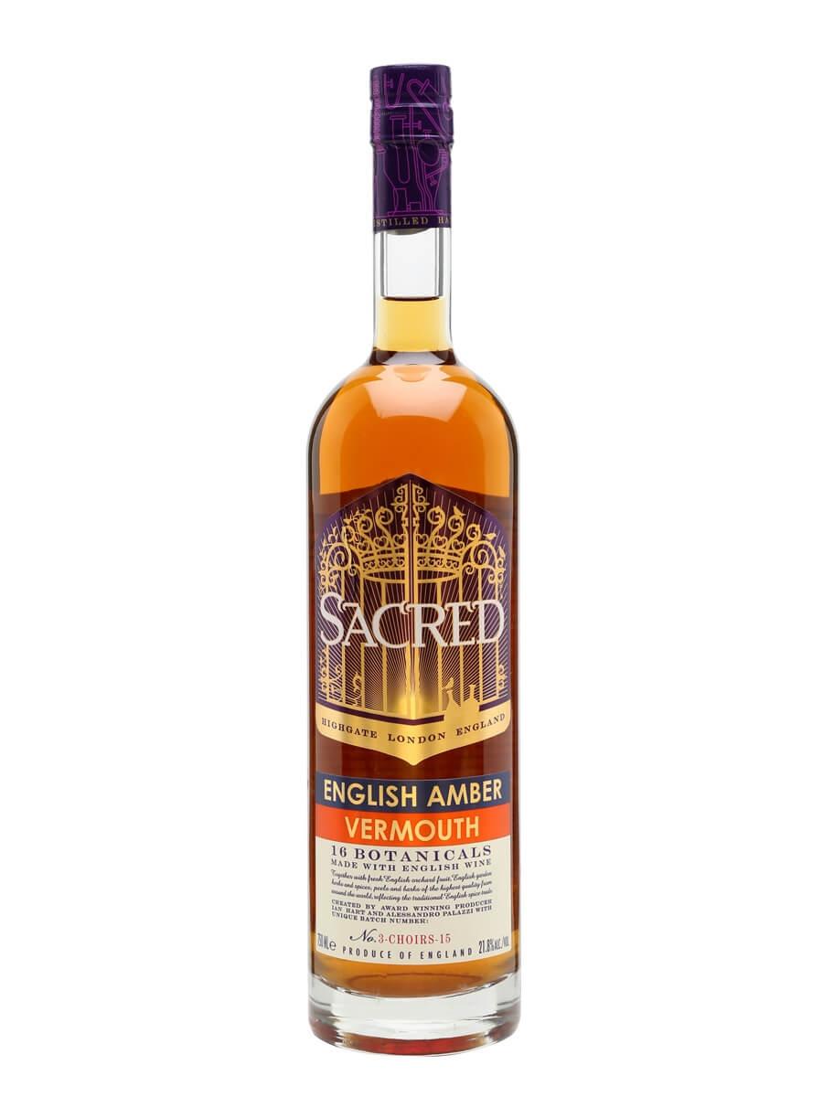Sacred English Amber Vermouth