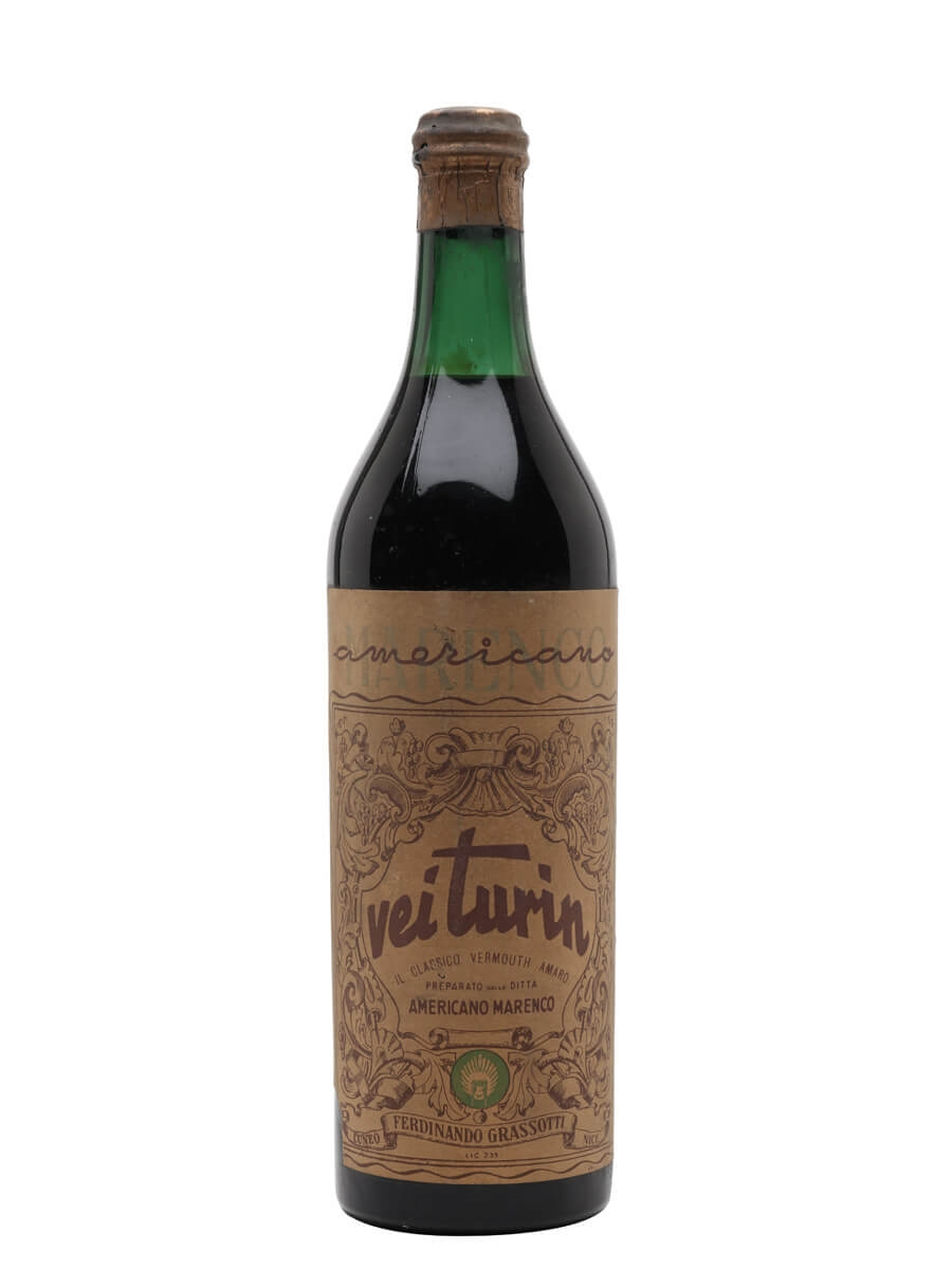 Vei Turin Vermouth Amaro / Bot.1940s