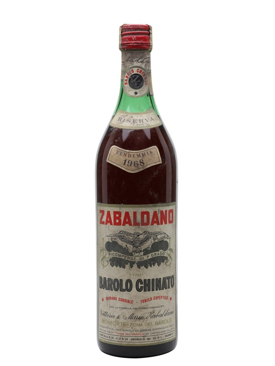 Zabaldano Harvest 1968 / Barolo Chinato / Bot.1980s