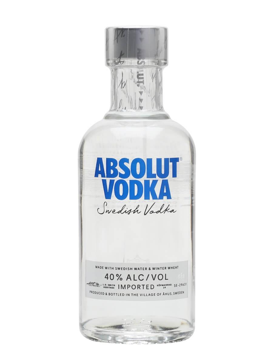 Absolut Vodka - Small Bottle : Buy from World's Best ...