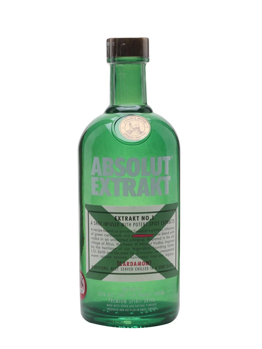 Absolut Extrakt Cardamom Vodka