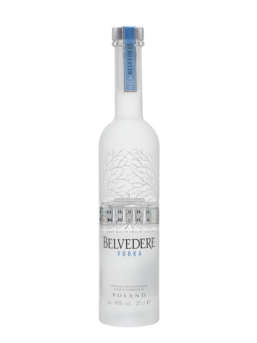 Belvedere Vodka / Small Bottle