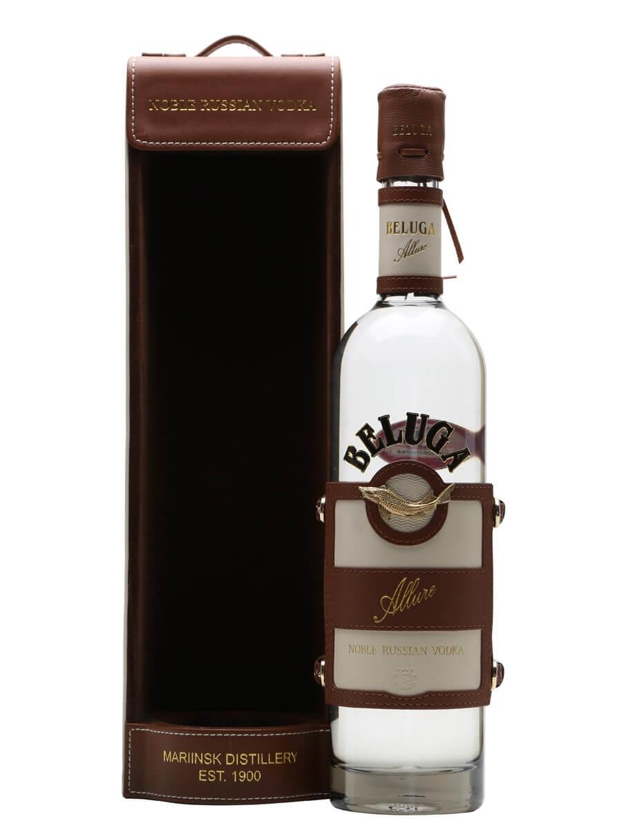 Beluga Allure Vodka / Leather Gift Case