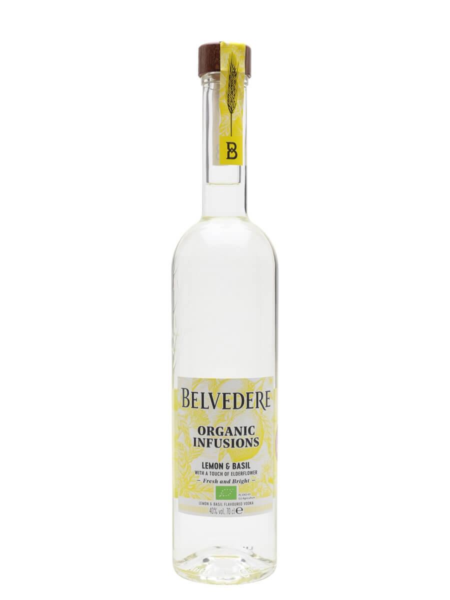 Belvedere Organic Infusions Lemon and Basil Vodka