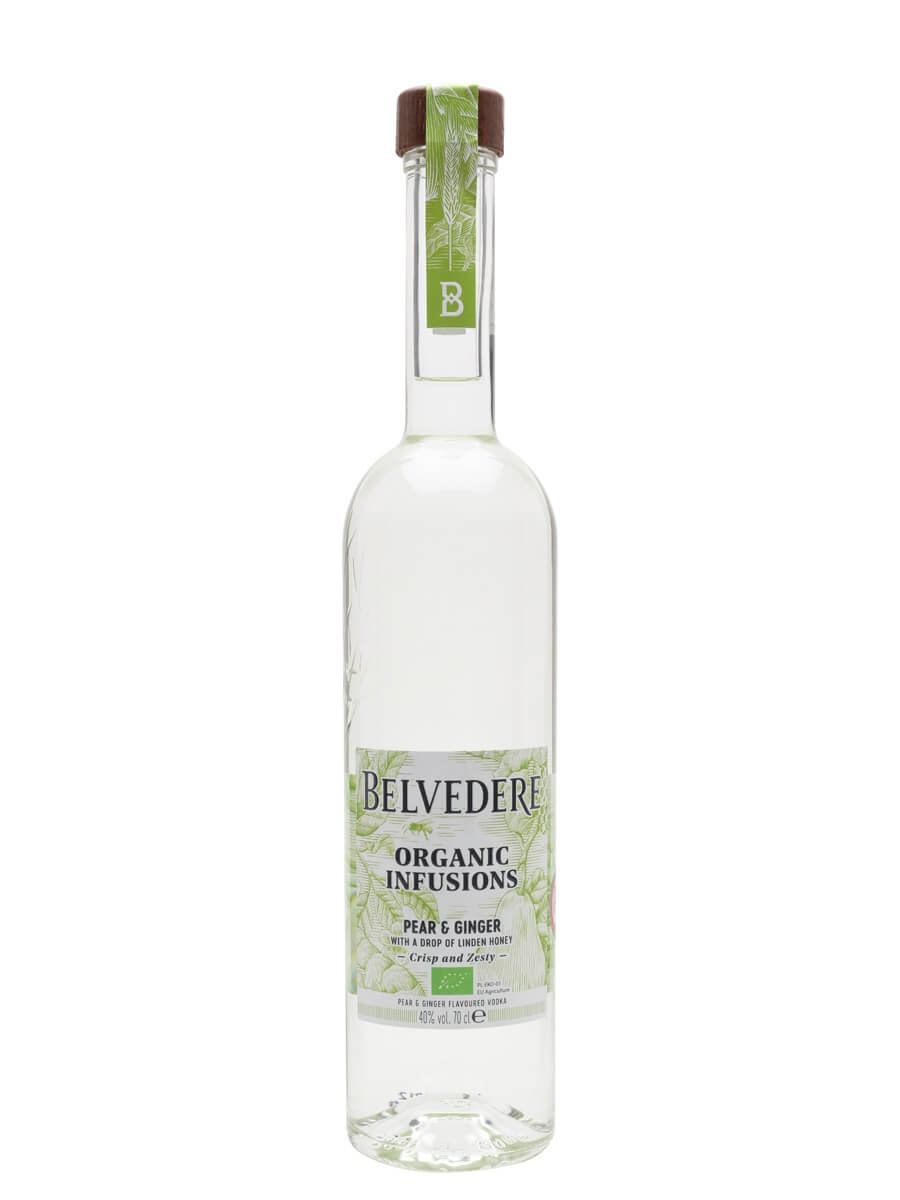 Belvedere Organic Infusions Pear and Ginger Vodka
