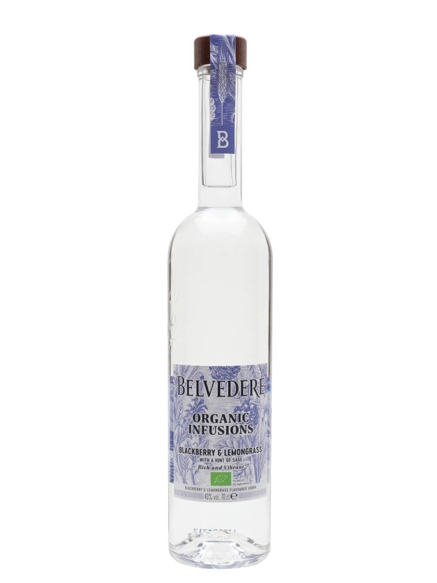Belvedere Organic Infusions Blackberry and Lemongrass Vodka