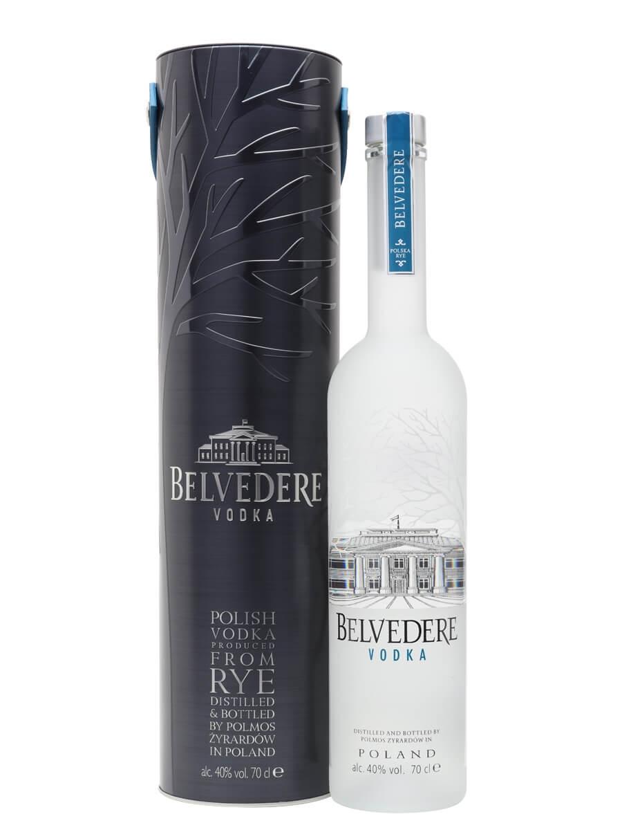 Belvedere Vodka / Gift Tin