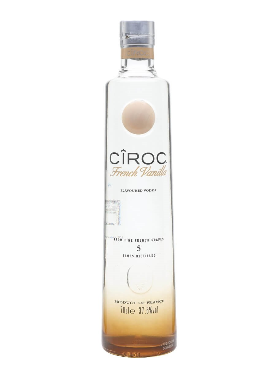 Ciroc French Vanilla Buy from Worlds Best Drinks Shop