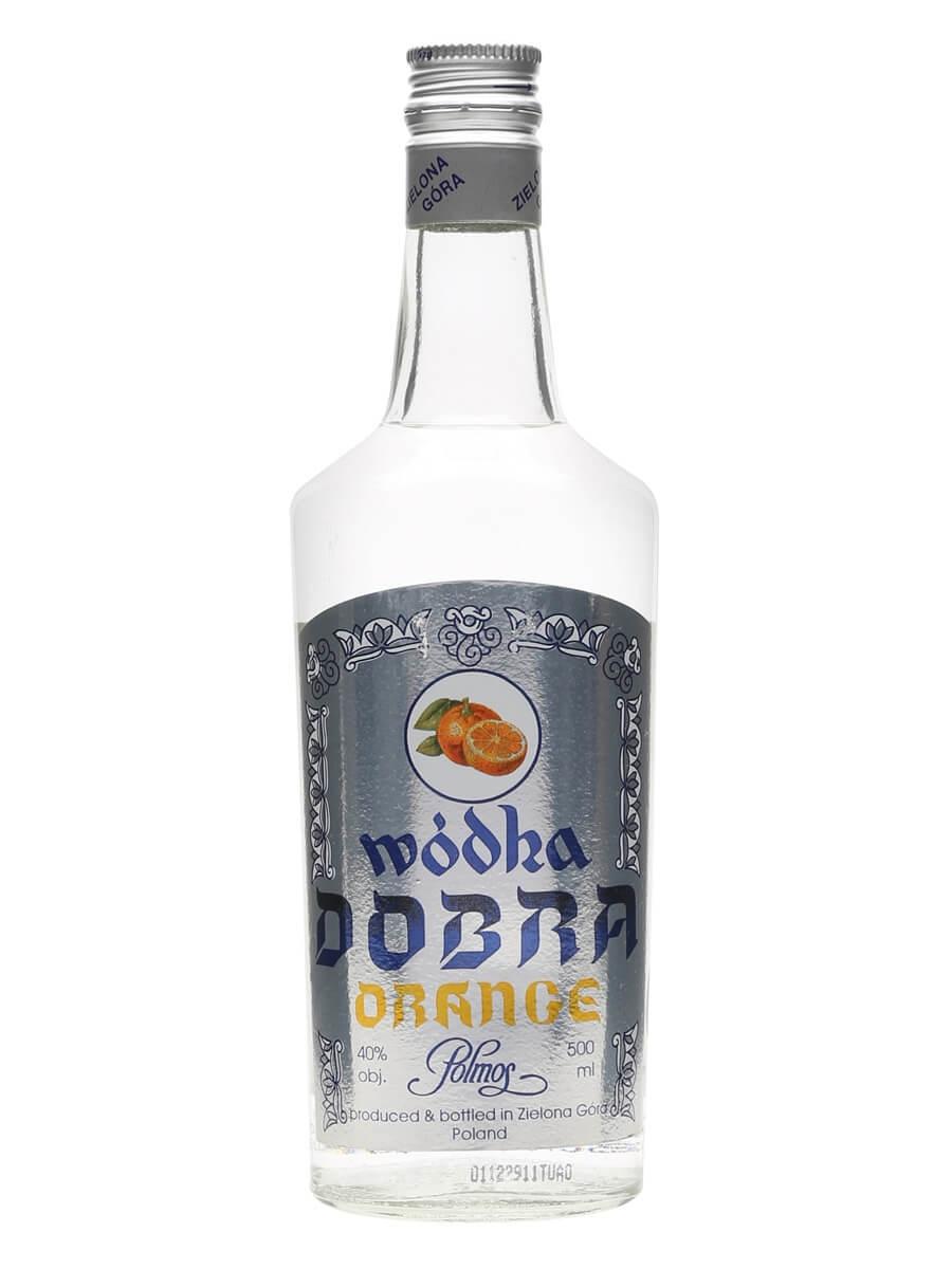 Dobra Wodka Orange / Polmos