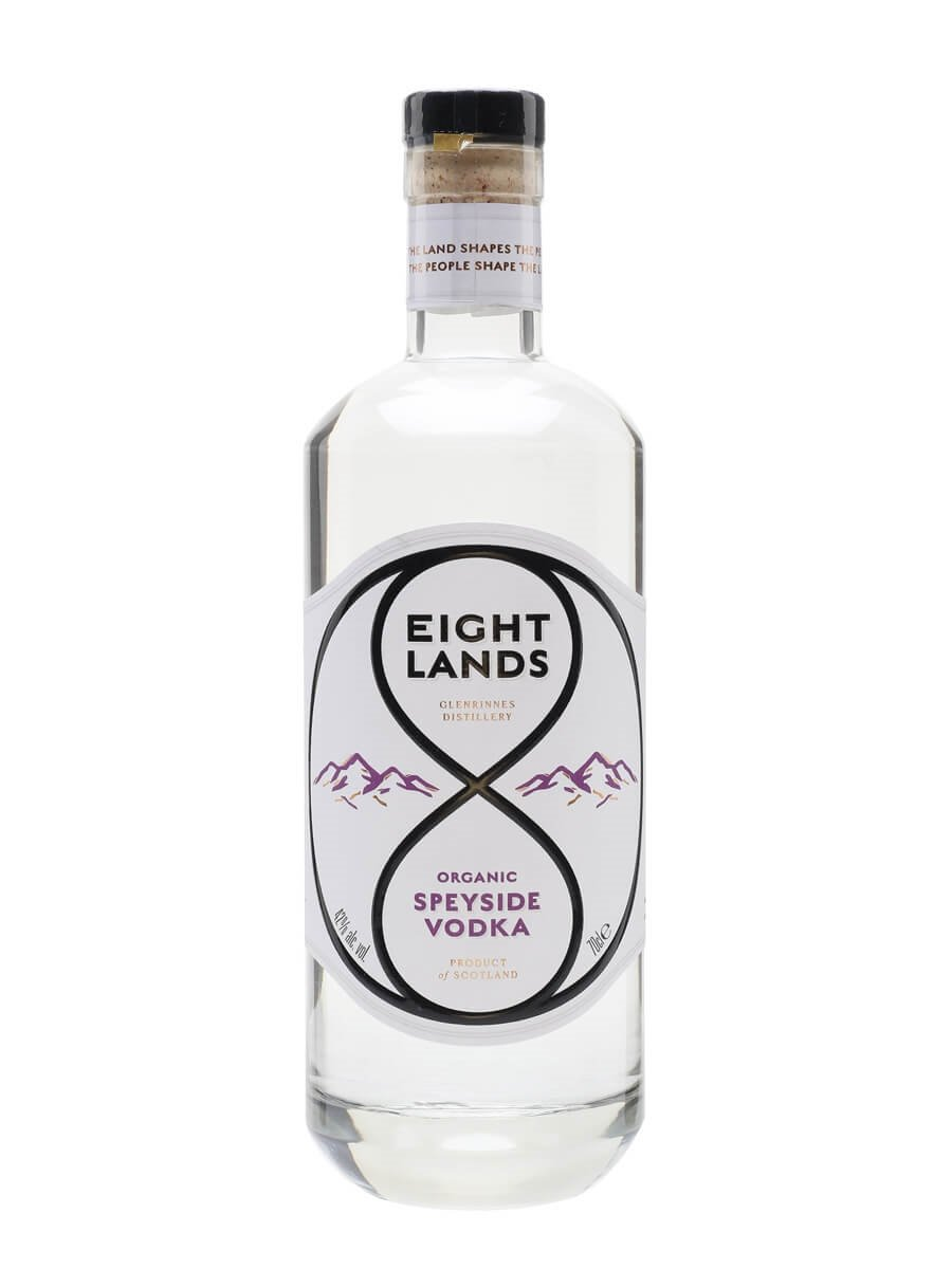 Eight Lands Organic Vodka