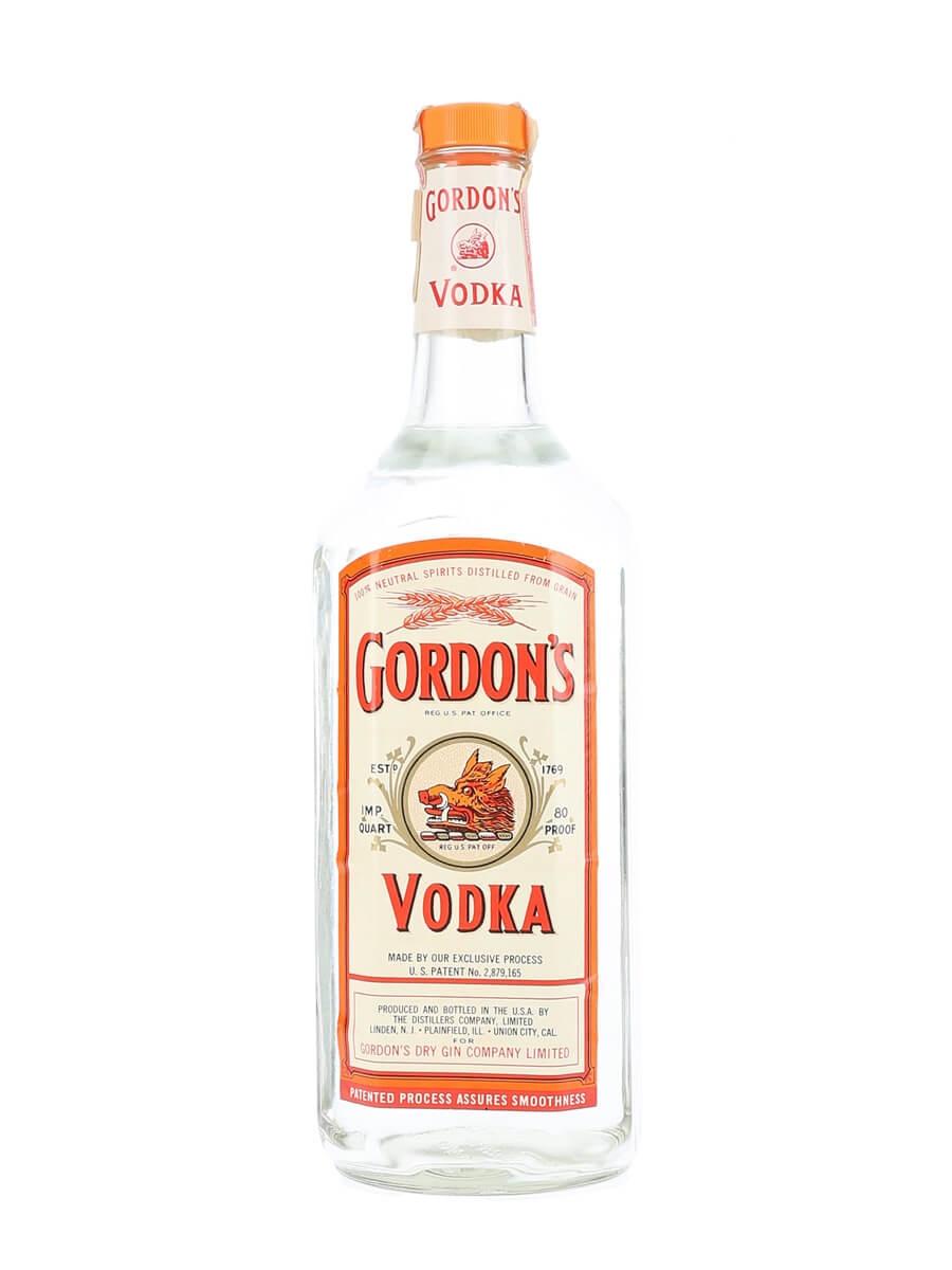 Gordon S Vodka Bot 1970s Buy From World S Best Drinks Shop