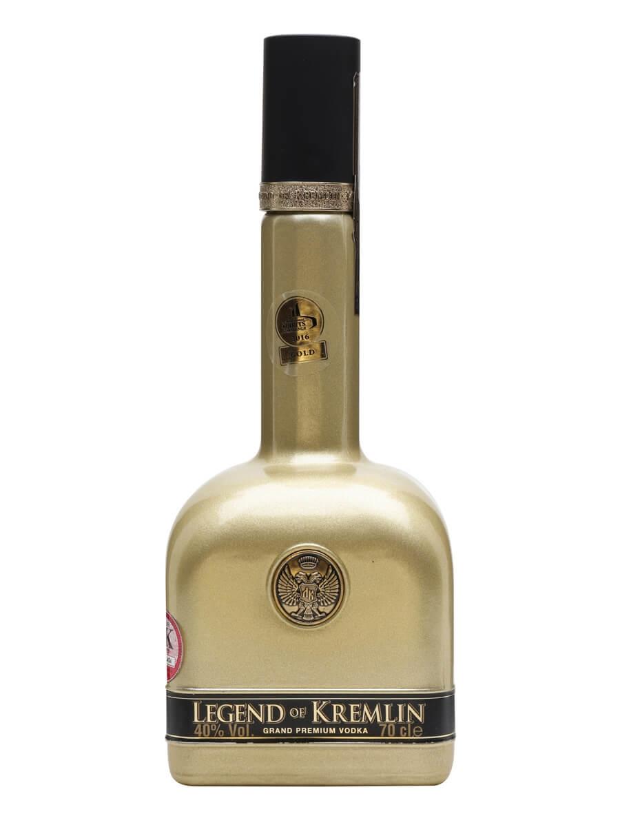Legend of Kremlin Gold Vodka