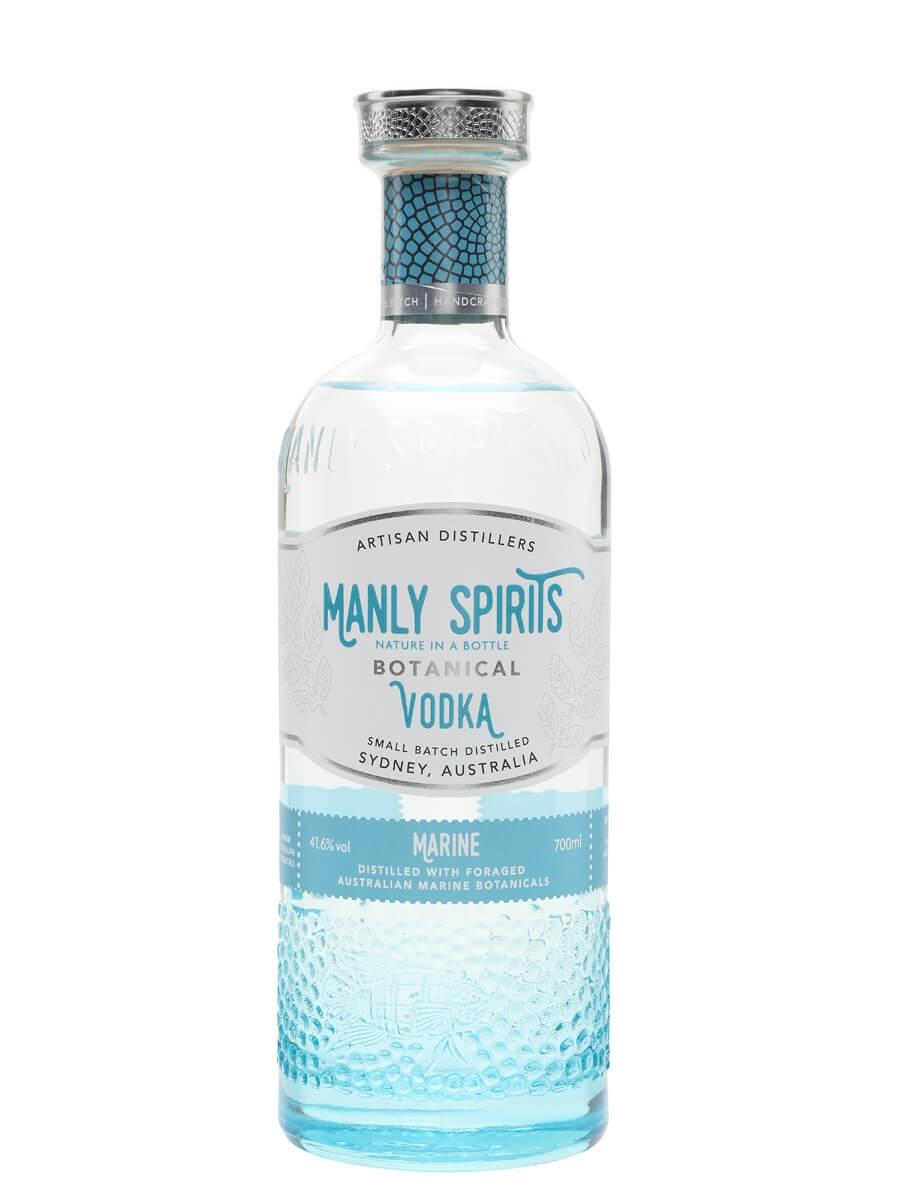 Marine Botanical Vodka Manly Spirits