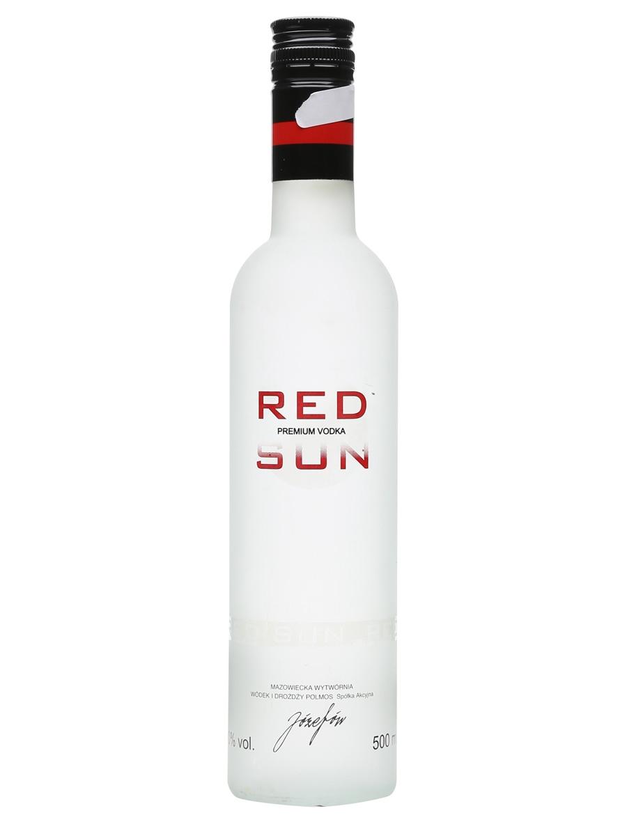 Red Sun Premium Vodka Polmos Buy From World S Best