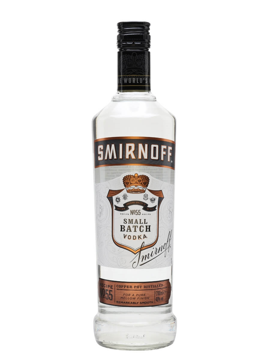 smirnoff black label vodka buy from worlds best drinks shop