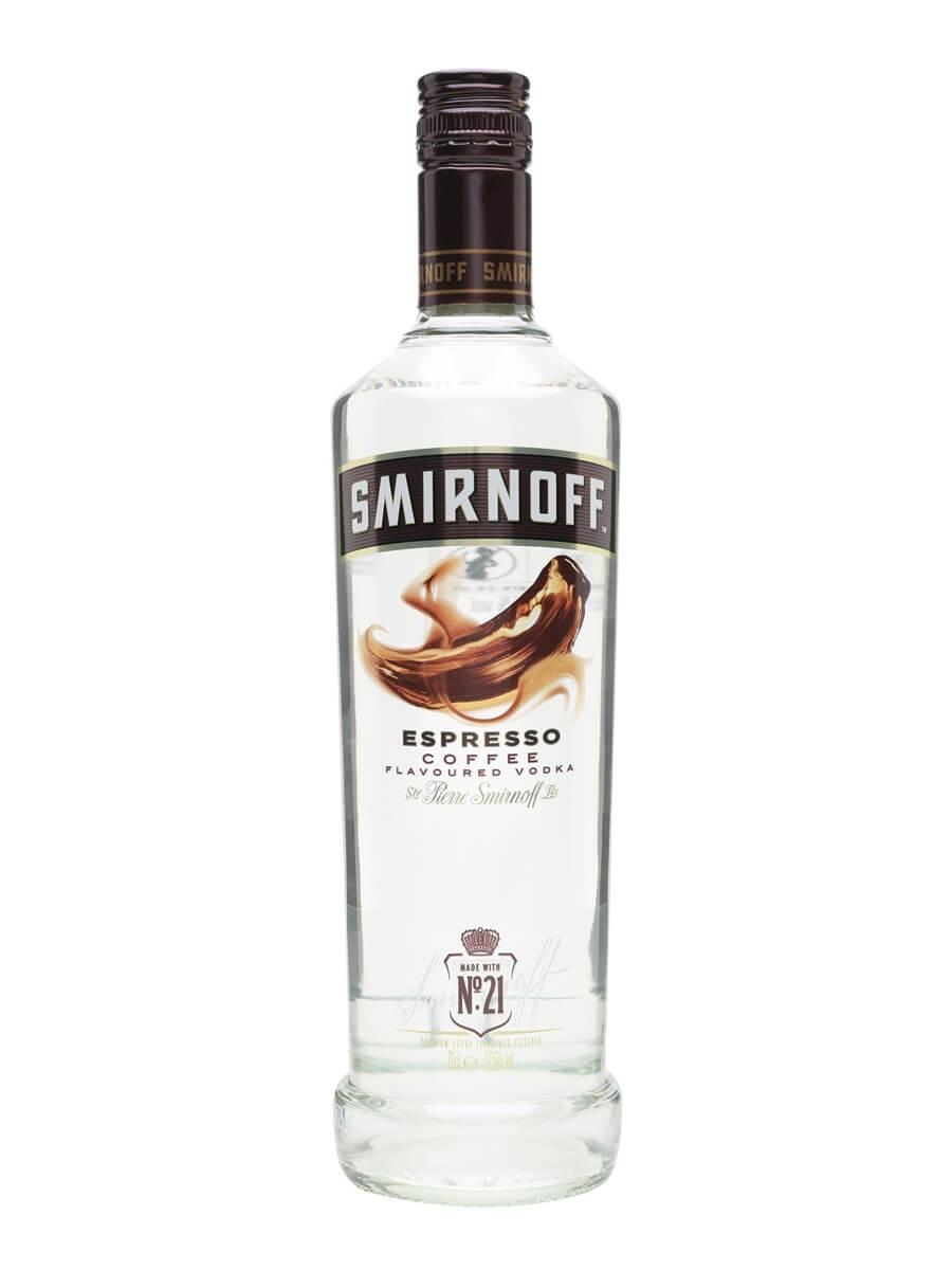 Smirnoff Espresso Vodka : Buy from World's Best Drinks Shop