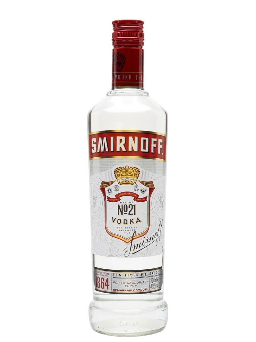 Smirnoff Red Vodka : Buy from World's Best Drinks Shop