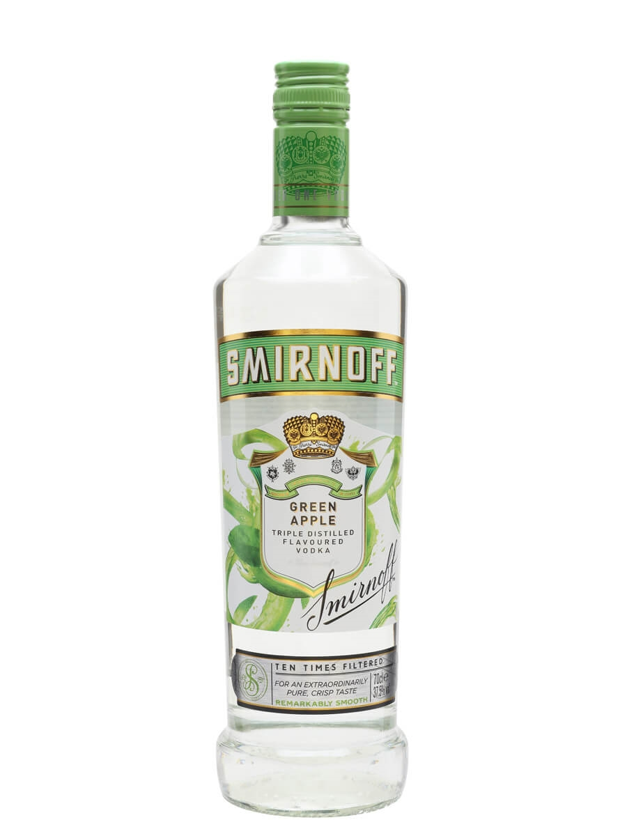 Smirnoff green apple buy from world 39 s best drinks shop for Green cocktails with vodka
