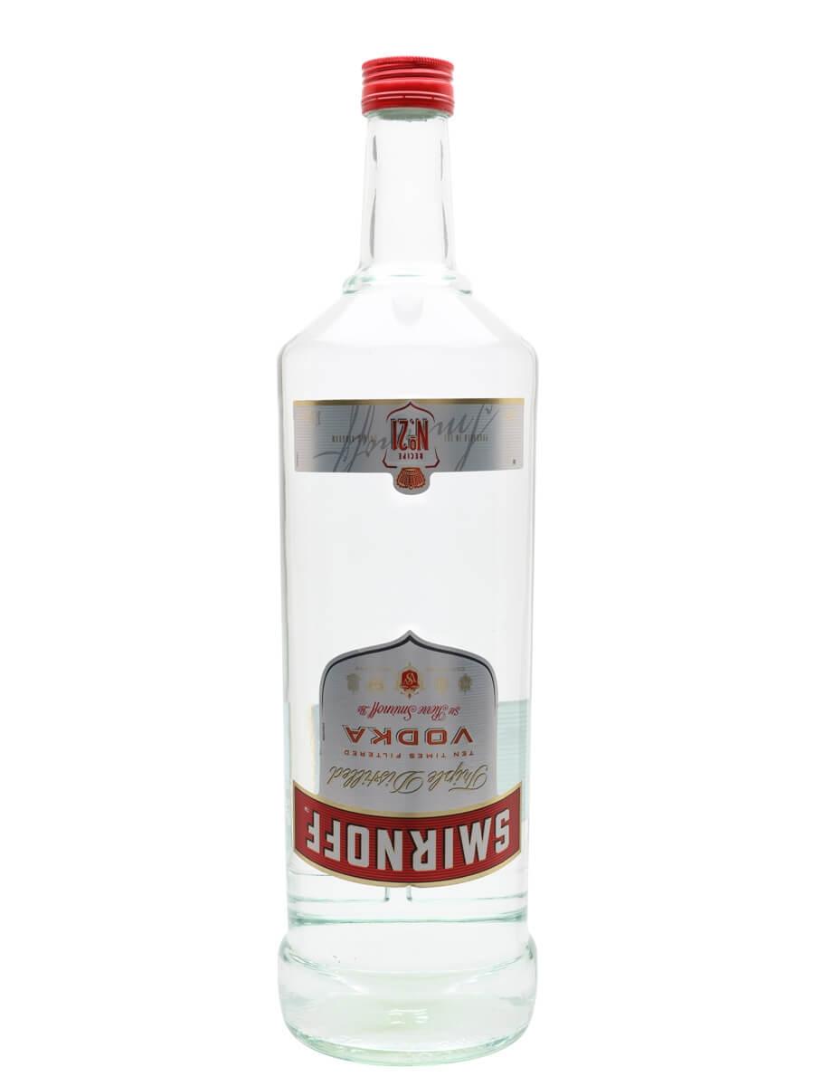 Smirnoff Red Vodka / Large Bottle