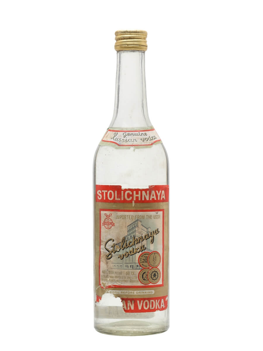 Stolichnaya (Stoli) Vodka Review | VodkaBuzz: Vodka ...
