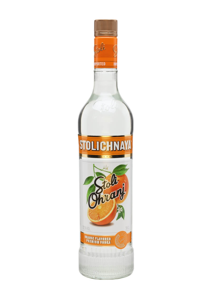 Stolichnaya Stoli Ohranj Orange Flavored Premium Vodka ...