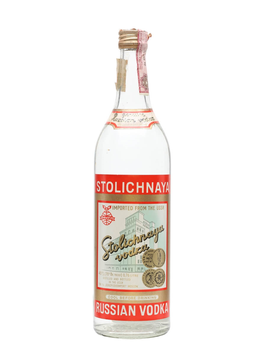 Stolichnaya Russian Vodka - Bot.1970s : Buy from World's ...