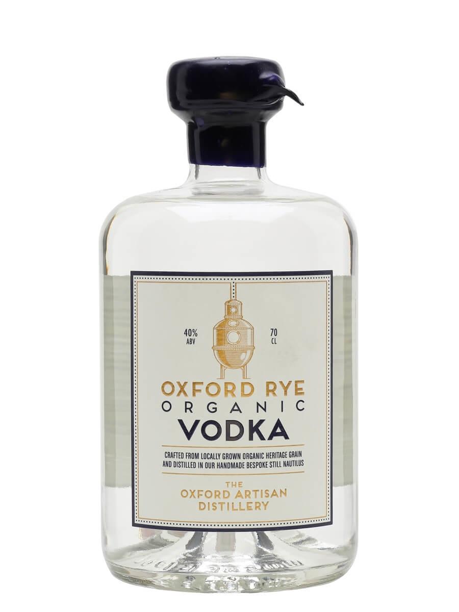 Oxford Rye Organic Vodka / The Oxford Artisan Distillery