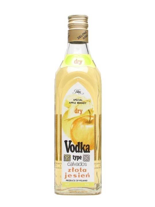 Zlota Jesien Vodka (Apple Brandy Vodka) / Polmos