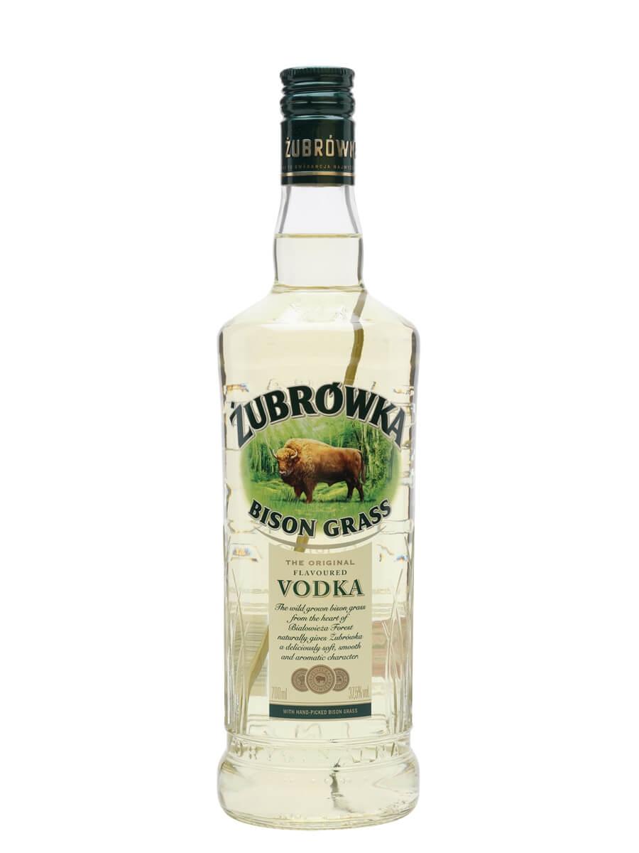 Zubrowka Bisongrass Vodka / Polmos