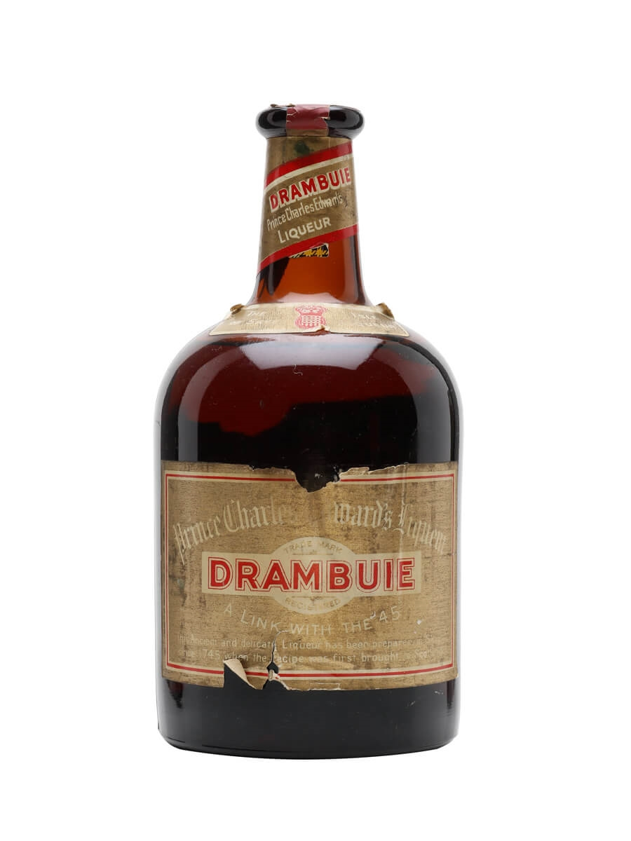 how to drink drambuie liqueur