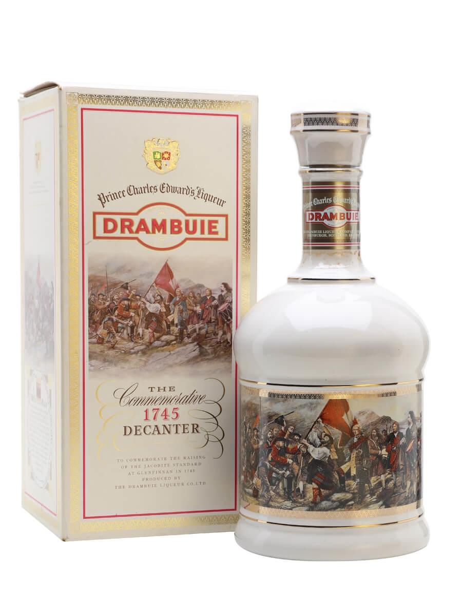 Drambuie Whisky Liqueur Ceramic Decanter