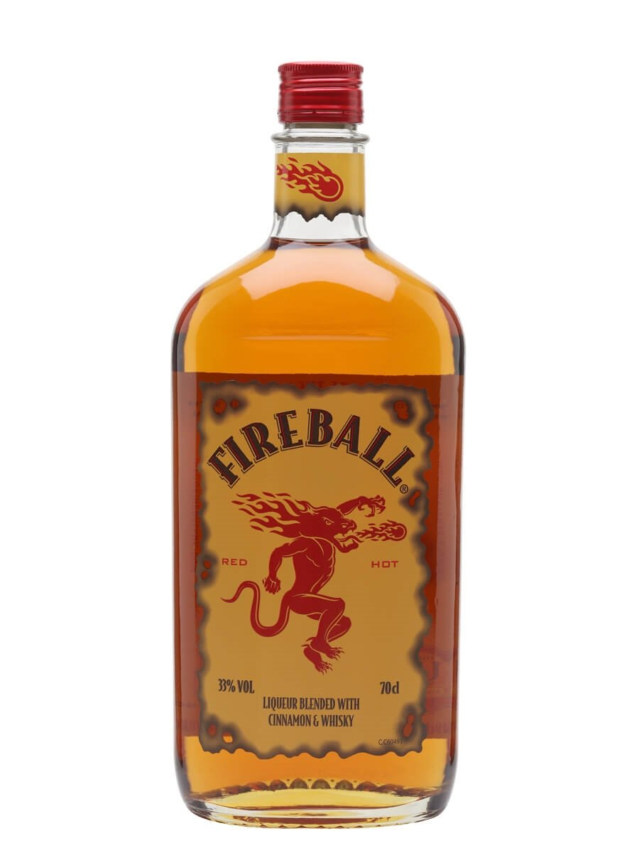 Cake Made With Fireball Whiskey