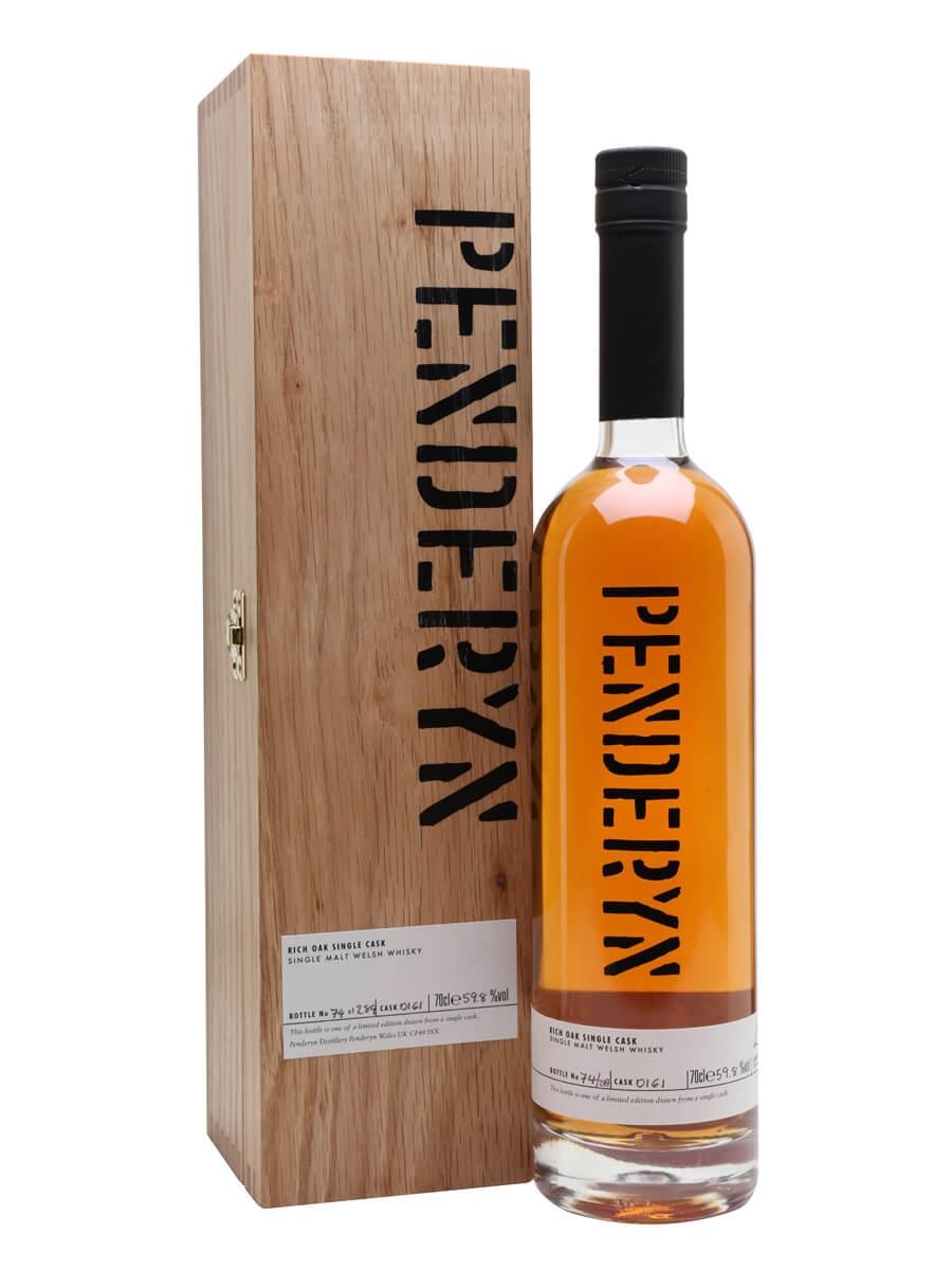 Penderyn Rich Oak Single Cask D161