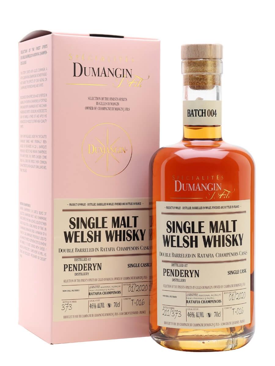 Penderyn Whisky / Ratafia Finish / Dumangin Batch 004