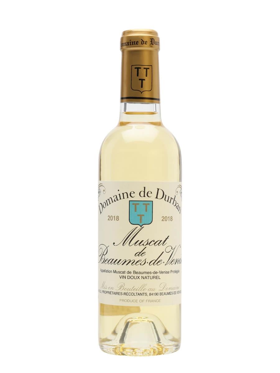 Muscat de Beaumes de Venise Domaine Durban 2018 / Half Bottle