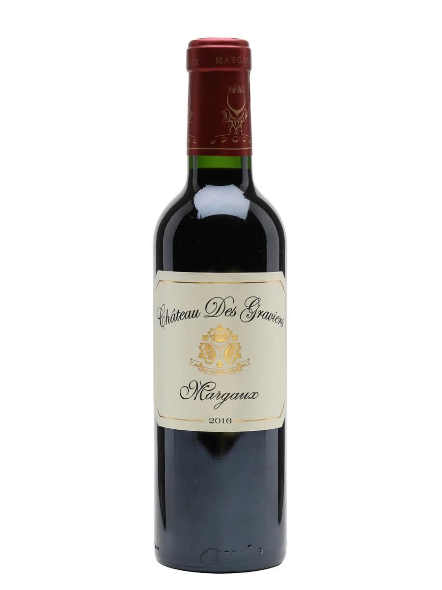 Chateau Des Graviers Margaux 2016 / Half Bottle