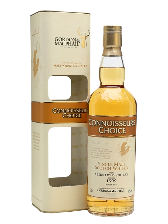 Aberfeldy 1999 / Bot.2016 / Connoisseurs Choice Highland Whisky
