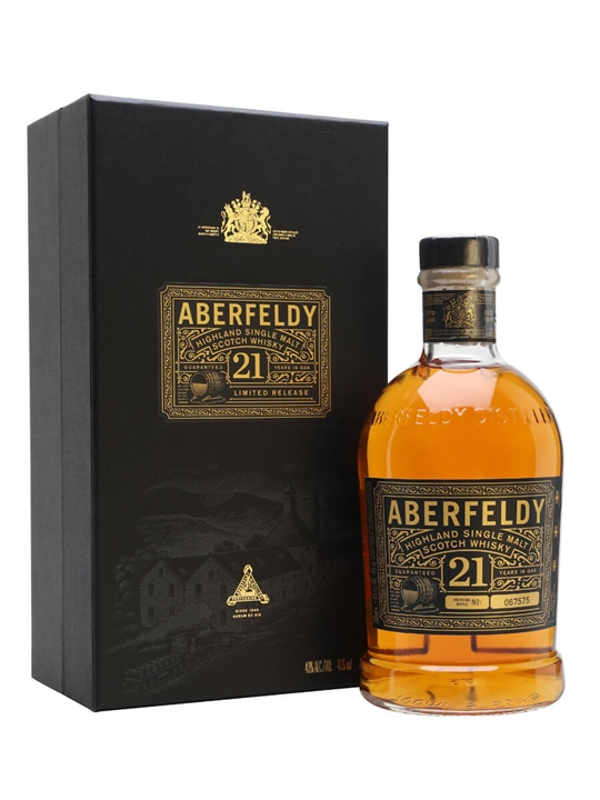 Aberfeldy 21 Year Old Highland Single Malt Scotch Whisky