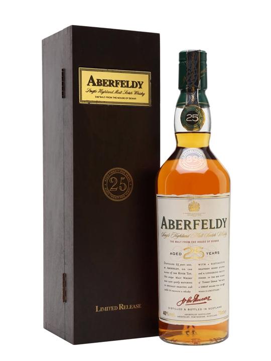 Aberfeldy 25 Year Old Highland Single Malt Scotch Whisky