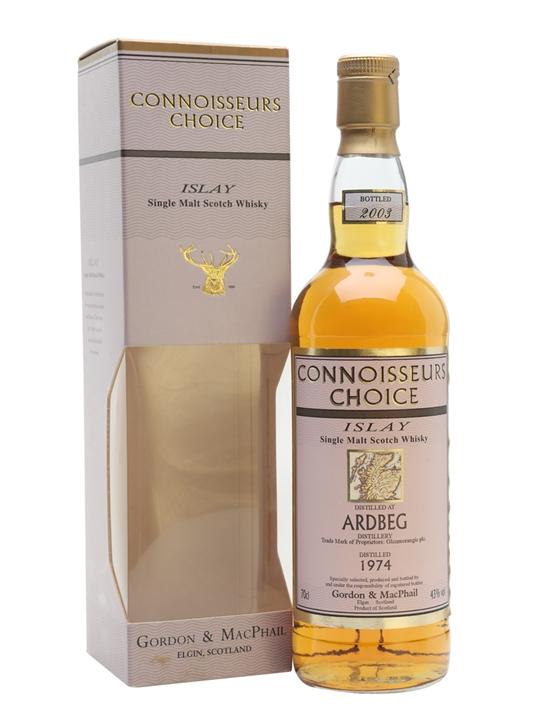 Ardbeg 1974 / Connoisseurs Choice / Bot.2003 Islay Whisky