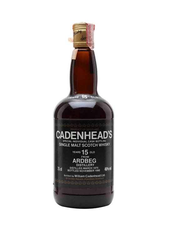 Ardbeg 1975 / 15 Year Old / Cadenhead's Islay Whisky