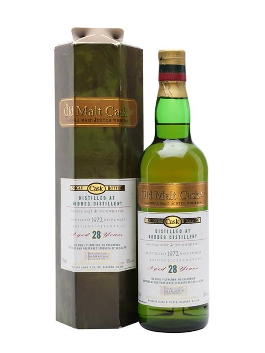 Ardbeg 1972  28 Year Old  Old Malt Cask Islay Whisky
