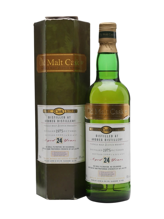 Ardbeg 1975  24 Year Old  Old Malt Cask Islay Whisky