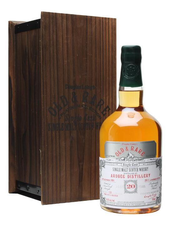 Ardbeg 1991 / 20 Year Old / Douglas Laing Platinum Islay Whisky