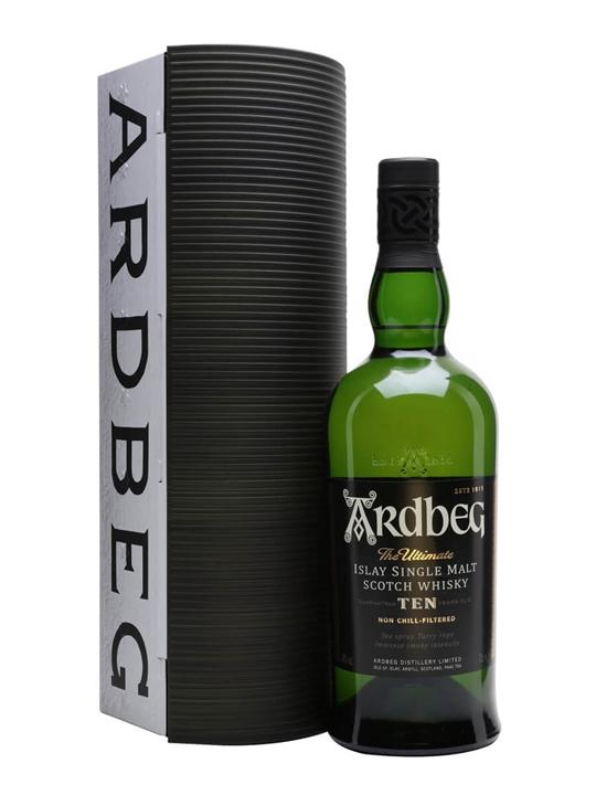 Ardbeg 10 Year Old / Warehouse Pack Islay Single Malt Scotch Whisky
