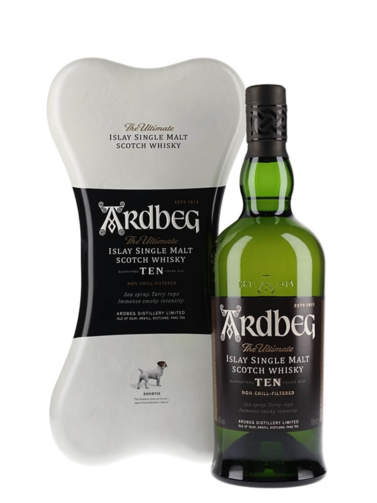 Ardbeg 10 Year Old / Bone Pack Islay Single Malt Scotch Whisky