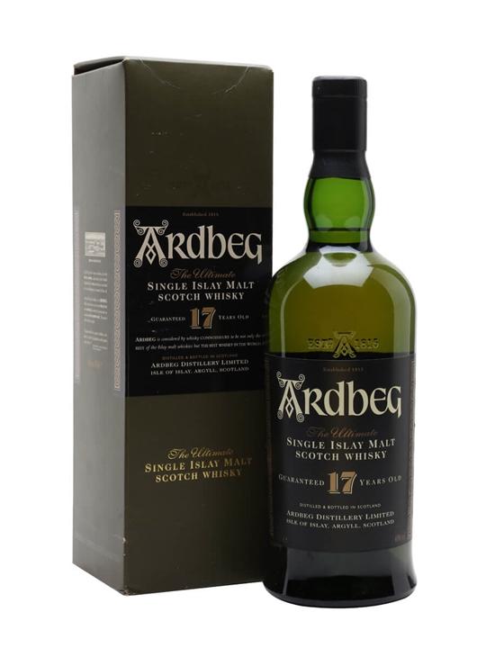 Ardbeg 17 Year Old Islay Single Malt Scotch Whisky